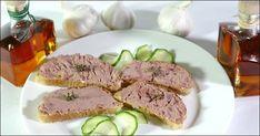 Kalbsleberwurst Teller
