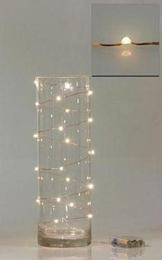 Met wat simpele ledlampjes de leukste kerstversiering maken? Hier heb je wat voorbeelden!! - Zelfmaak ideetjes
