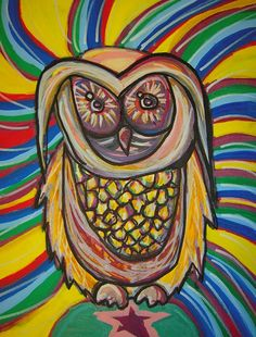 'Whozzie the Owl' by Margaux Wosk