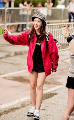 Korea Fashion, Kpop Fashion, All Fashion, Star Fashion, Fashion Trends, Airport Fashion, J Pop, Korean Girl, Asian Girl