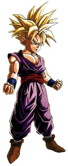 Gohan he is so awesome