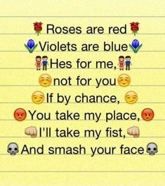 Cute poem for your crush