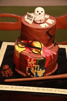 #cake #gateau #harry #potter #poudlard #magie