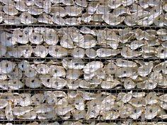 Le gabion est un casier de fils de fer tressés utilisé dans le bâtiment. Cette cage métallique, une fois remplie de pierres, permet de construire des murs de soutènement ou de     décorer des murs nus. Mais pas seulement. Exemples d'utilisation du gabion....