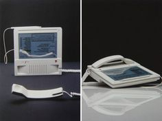 Some retro, twisted iPhone meets iPad a decade and thensome ago... Frog Design's Hartmut Esslinger Reveals Early Apple Designs in New Book - Mac Rumors