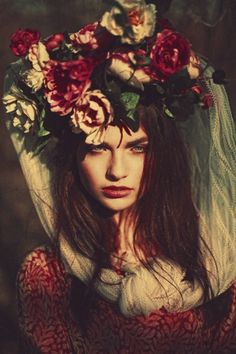 Bouquet//head//veil//photo