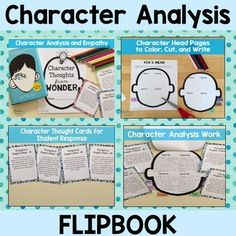 Wonder Character Analysis Project: End of. by Erin Beers from Mrs Beers Language Arts Classroom Character Traits Graphic Organizer, Graphic Organizers, Fifth Grade, Student Work, Language Arts, No Response, Novels, Classroom, Teacher