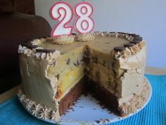 Chocolate Chip Cookie Dough Cheesecake Cake