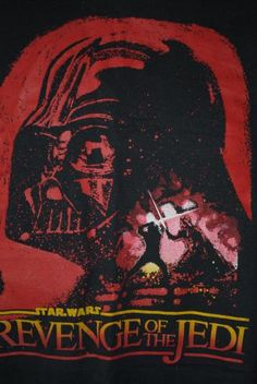 1982 Revenge Of The Jedi Rare Vintage Star Wars T-Shirt