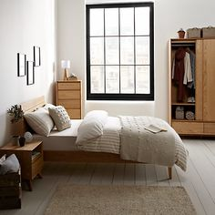 Bedroom Furniture John Lewis morgan double wardrobe, oak | double wardrobe, john lewis and bedrooms