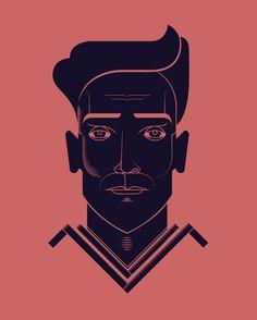 Portraits   #illustration #portrait #graphicdesign