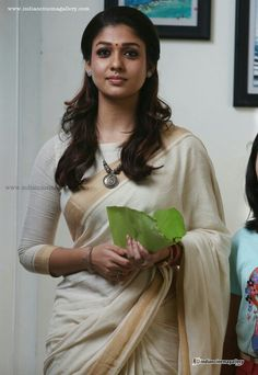 Cute nayan in saree