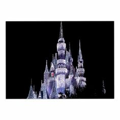KESS InHouse Philip Brown 'Frozen Castle' Purple Photography Dog Place Mat, 13' x 18' *** Wow! I love this. Check it out now! : Dog food container