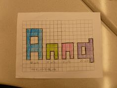Anchored In 3rd Grade: More Adjectives, Name Perimeter Project