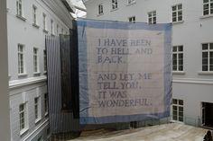 the handkerchief's opera by dominique gonzalez-foerster @ MANIFESTA 10