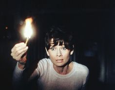 Wait Until Dark-Audrey Hepburn (1967) saw this at the drive in, about jumped out my skin.