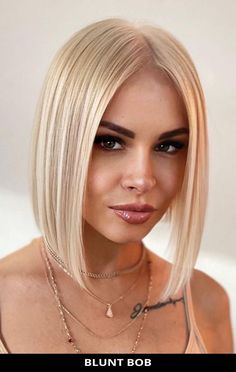 Ask for this popular blunt bob that's totally trending right now! To get all of the details for this style, tap here and also check out the rest of these 17 most incredible examples of blunt cut bob haircuts you have to see. // Photo Credit: @hair_salon_by_hadis on Instagram Blunt Bob Haircuts, Blunt Cuts, Latest Hairstyles, Face Shapes, Short Hair Cuts, The Incredibles, Lady, Hair Styles, Photo Credit