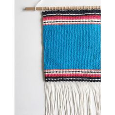 Weaving, Handmade, Zarape Pattern, Wall Hanging, Tapestry.