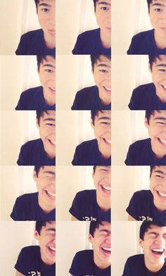 @Calum Hood  I love his laugh and smile