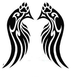 Tattoos Of Wolves With Wings | Back > Gallery For > Wolf With Wings Tattoo