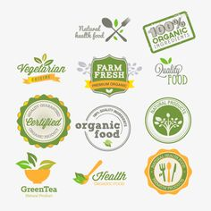 Listings (out of Exclusive free vectors by Freepik Logo Restaurant, Dessert Logo, Logo Verde, Icon Design, Logo Design, Paper Bag Design, Fruit Logo, Brand Fonts, Free Instagram
