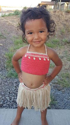 Disney's Baby Moana Outfit Baby Moana Costume First