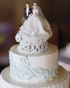 "See the ""A Vintage Touch"" in our Best Cake Toppers gallery"