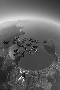 Skydiving. ☀
