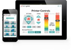 AstroPrint free cloud based OS for 3D printing