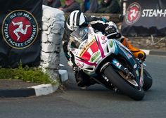 Isle of Man TT winner Michael Dunlop.