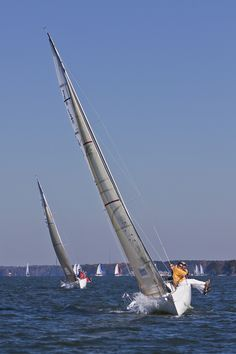 Sailing Regatta on Lake Norman