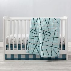 Atomic Crib Bedding and Quilt | The Land of Nod