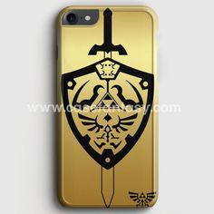 Zelda Master Sword Hylian Shield iPhone 7 Case | casefantasy