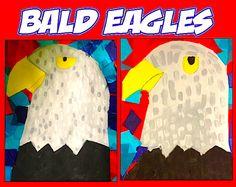 bald eagles art project