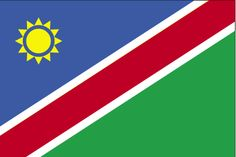 Country Flags: Namibia Flag