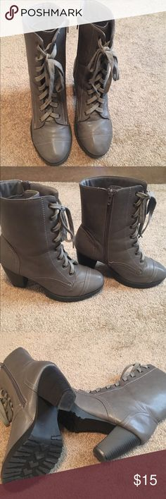 Wet Seal Boots Wet Seal boots. Size 8.5. Worn a couple of times. Wet Seal Shoes