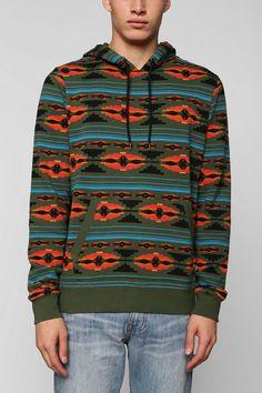 Character Hero Geo Pullover Hoodie Sweatshirt