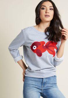 12266fa2dbe0 Compania Fantastica Best Fishes Sweatshirt