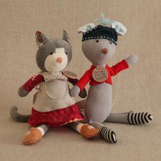 Lila Mae - Hazel Village Mortimer Mouse, $68.00 (http://www.lilamae.com/hazel-village-mortimer-mouse/)babygift#madeinamerica#lilamaeusa