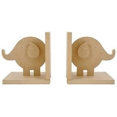 Elephant bookends to paint (found cheaper at Joann's originally but couldn't pin from their website).