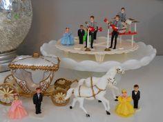 Vintage Cake Topper Lot Beatles Cinderella