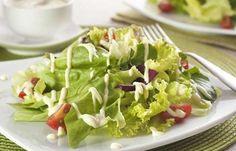 Molho de requeijão para saladas.