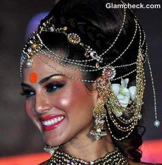 Indian Bridal Makeup Trend 2012 : The Orange Hue