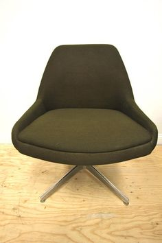 Steelcase Army Green Chair