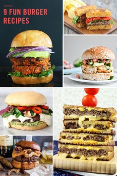 9 burger recipes that are worth drooling over click for recipe