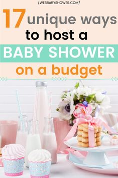 17 Unique Ways to Host a Baby Shower on a Budget Baby Shower Registry, Baby Shower Checklist, Budget Baby Shower, Virtual Baby Shower, Baby Shower Parties, Baby Showers, Free Baby Shower Printables, Free Baby Shower Games, Baby Shower Activities