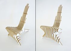 """Peak"" Lounge Chair by Peter Qvist Lorentsen"