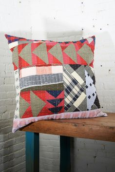 Ace & Jig x Counterpane Patchwork Pillow from Beautiful Dreamers
