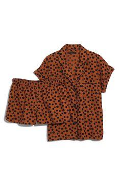 1223b820d9ef Madewell Leopard Dot Flannel Bedtime Pajamas