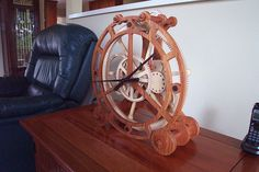 Epicyclic Clock 1 by Bill Rickerson
